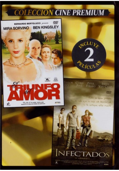 El Triunfo Del Amor (The Triumph Of Love) + Infectados (Carriers) (Estuche Slim)