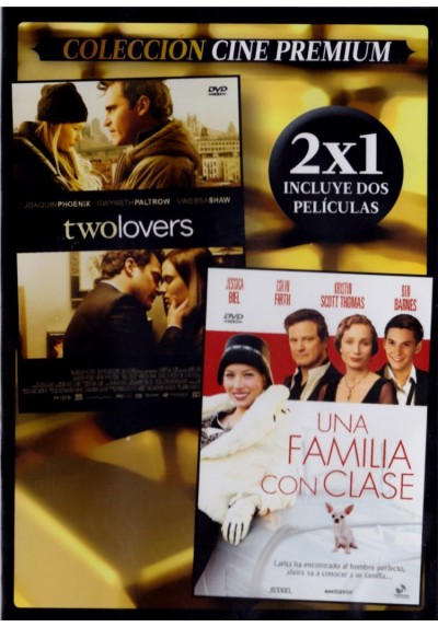 Two Lovers + Una Familia Con Clase (Easy Virtue) (Estuche Slim)