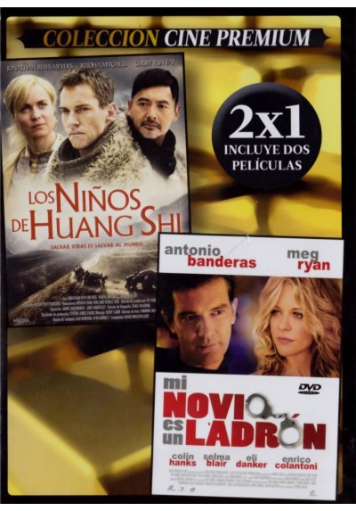 Los Niños De Huang Shi (The Children Of Huang Shi) + Mi Novio Es Un Ladrón (My Mom´s New Boyfriend) (Estuche Slim)