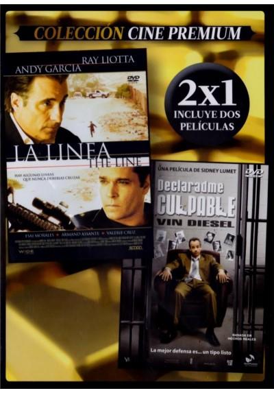 La Línea (The Line) + Declaradme Culpable (Find Me Guilty) (Estuche Slim)