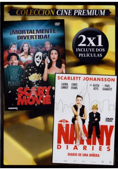 Scary Movie + The Nanny Diaries (Diario De Una Niñera) (Estuche Slim)