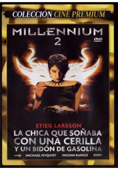 Millennium 2 : La Chica Que Soñaba Con Una Cerilla Y Un Bidón De Gasolina (Män Som Hatar Kvinnor) (Estuche Slim)
