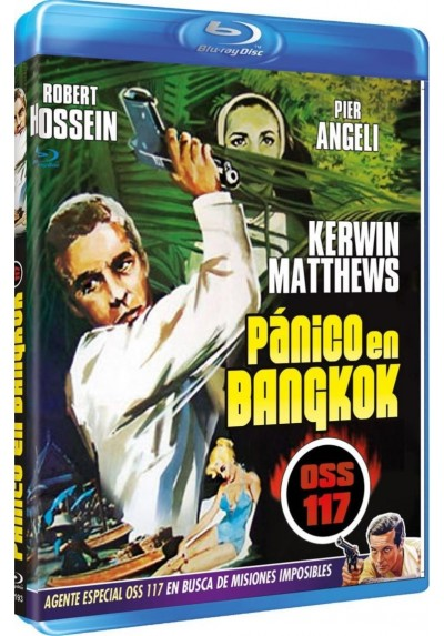 Pánico En Bangkok (O.S.S. 117) (Banco à Bangkok Pour OSS 117 ) (Bd-R) (Blu-Ray)