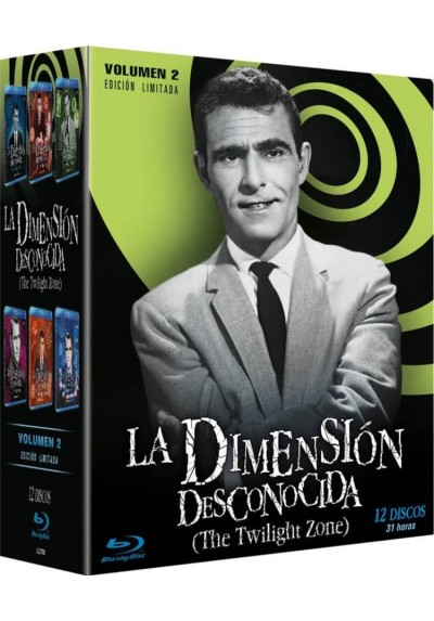Pack La Dimensión Desconocida Vol.2 (The Twilight Zone) - Edición Limitada (Blu-ray)