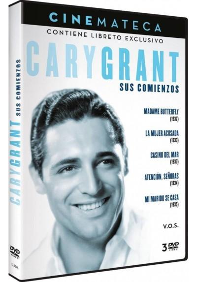 Cinemateca: Pack Cary Grant Sus Comienzos