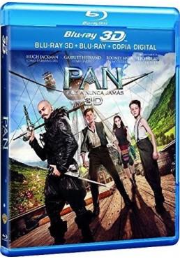 Pan : Viaje A Nunca Jamas (Blu-Ray 3d + Blu-Ray + Copia Digital)