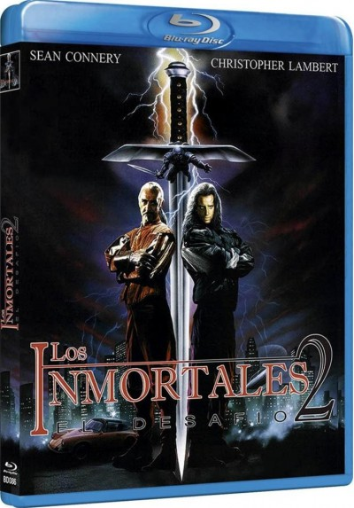Los Inmortales II: El Desafio (Blu-Ray) (Highlander II: The Quickening)