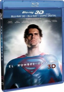 El Hombre De Acero (Blu-Ray 3d + Blu-Ray + Copia Digital) (Man Of Steel)