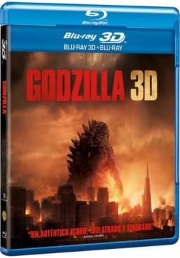 Godzilla (2014) (Blu-Ray 3d+ Blu-Ray)
