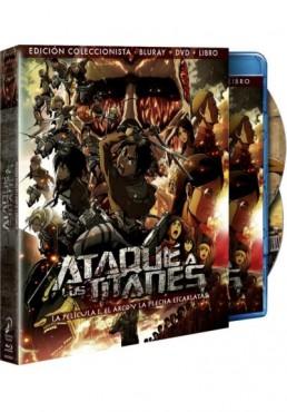 Ataque A Los Titanes : La Pelicula - 1ª Parte (Blu-Ray + Dvd + Libro) (Ed. Coleccionista) (Attack On Titan)