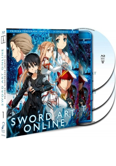 Sword Art Online : 1ª Temporada - 1ª Parte (Blu-Ray)