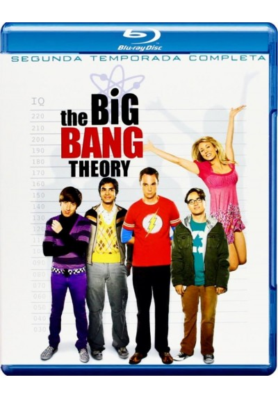 The Big Bang Theory - 2ª Temporada (Blu-Ray)