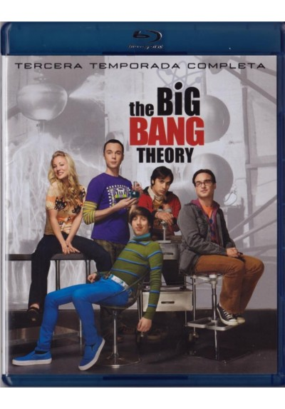 The Big Bang Theory - 3ª Temporada (Blu-Ray)