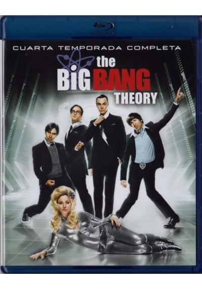 The Big Bang Theory - 4ª Temporada (Blu-Ray)