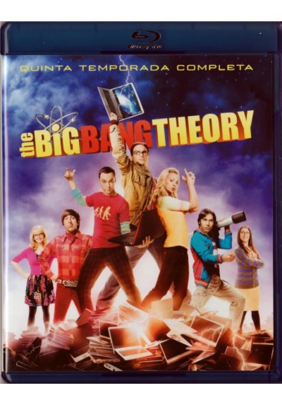 The Big Bang Theory - 5ª Temporada (Blu-Ray)