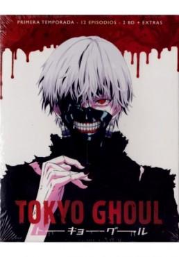 Tokyo Ghoul - 1ª Temporada (Blu-Ray + Extras)