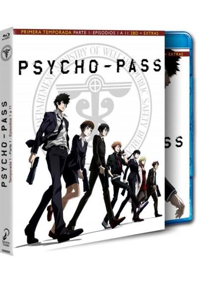 Psycho Pass : 1ª Temporada - 1ª Parte (Blu-Ray + Extras)