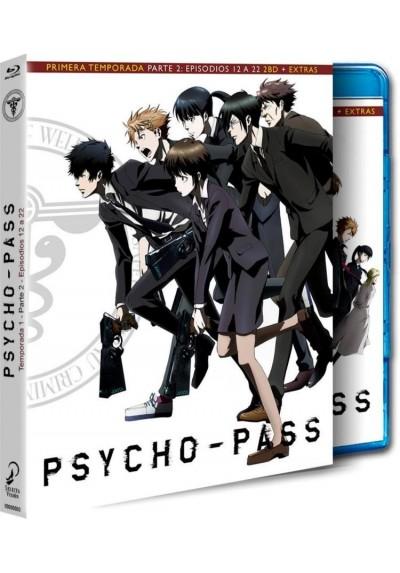Psycho Pass : 1ª Temporada - 2ª Parte (Blu-Ray + Extras)