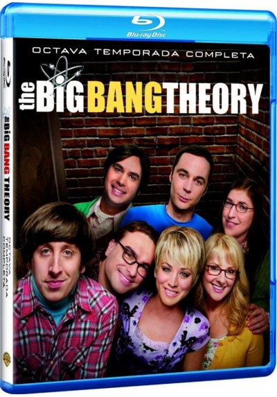 The Big Bang Theory - 8ª Temporada (Blu-Ray)