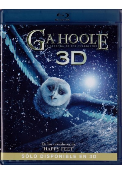 Ga´Hoole : La Leyenda De Los Guardianes (Blu-Ray 3d) (Legend Of The Guardians: The Owls Of Ga´hoole)