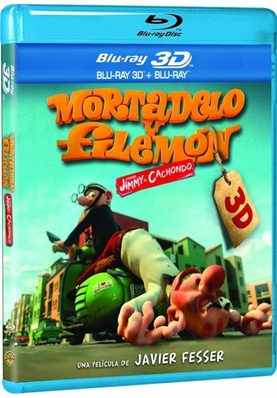 Mortadelo Y Filemon Contra Jimmy El Cachondo (Blu-Ray 3d + Blu-Ray)