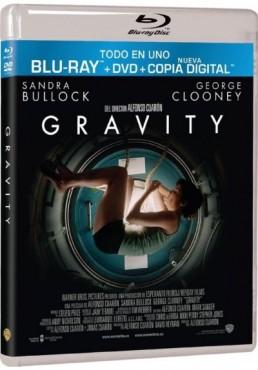 Gravity (Blu-Ray + Dvd + Copia Digital)