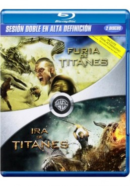 Pack Furia De Titanes / Ira De Titanes (Blu-Ray)