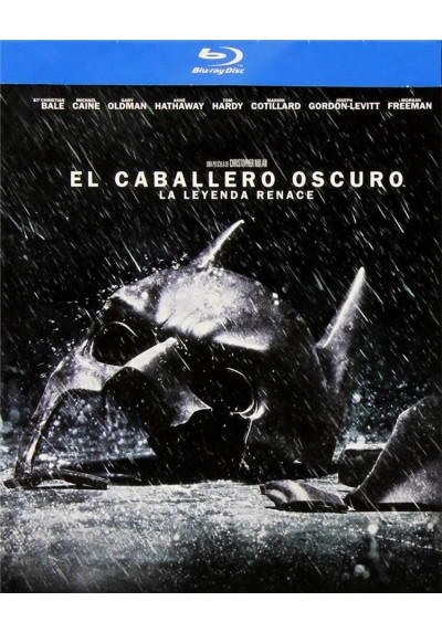 El Caballero Oscuro : La Leyenda Renace (Blu-Ray) (The Dark Knight Rises)