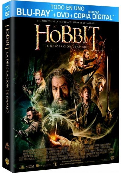 El Hobbit : La Desolacion De Smaug (Blu-Ray + Dvd + Copia Digital) (Ed. Especial) (The Hobbit : The Desolation Of Smaug)
