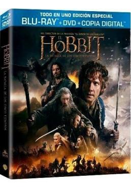 El Hobbit : La Batalla De Los Cinco Ejercitos (Blu-Ray + Dvd + Copia Digital) (The Hobbit: The Battle Of The Five Armies)