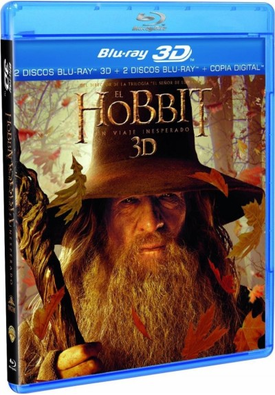 El Hobbit : Un Viaje Inesperado (Blu-Ray 3d + Blu-Ray + Copia Digital) (The Hobbit: An Unexpected Journey)