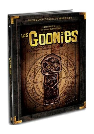 Los Goonies (Blu-Ray) (Ed. Libro) (The Goonies)
