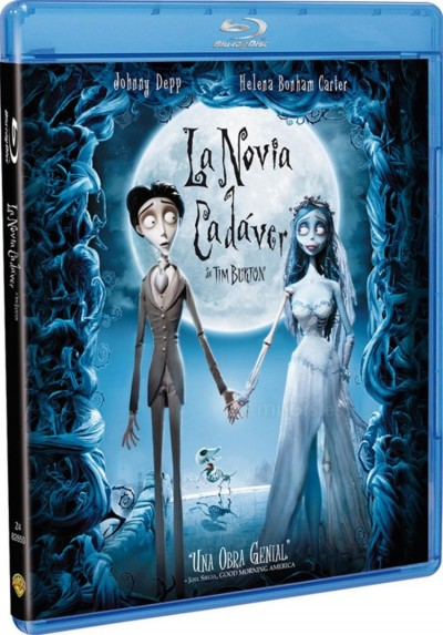La Novia Cadáver (Blu-Ray) (Corpse Bride)