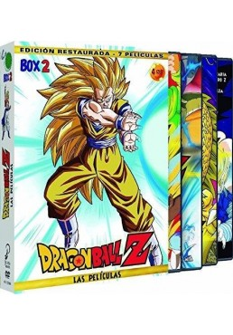 Pack Dragon Ball Z: Las Peliculas - Box 2