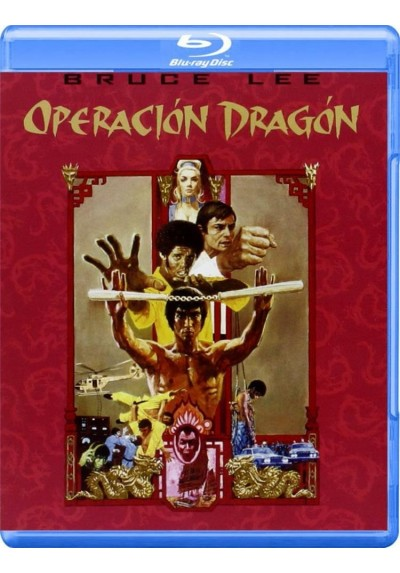 Operacion Dragón (Blu-Ray) (Enter The Dragon)