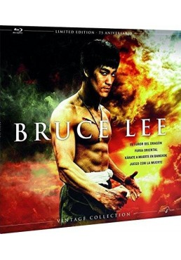 Pack Bruce Lee (70ª Aniversario) - Coleccion Vintage (Ed. Vinilo) (Blu-Ray)