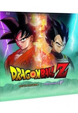 Pack Dragon Ball Z : La Batalla De Los Dioses / La Resurrección De F. - Colección Vintage (Ed. Vinilo) (Blu-Ray)