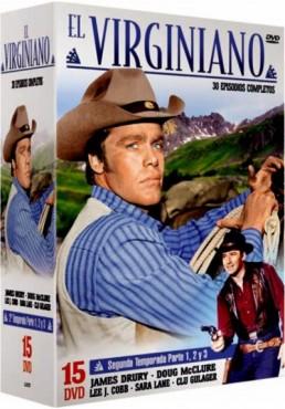 Pack El Virginiano : Segunda Temporada - Parte 1, 2 y 3 (The Virginian)