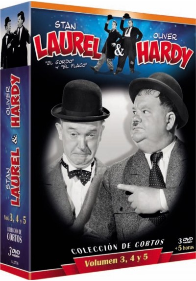 Pack STAN LAUREL & OLIVER HARDY - Coleccion de Cortos Vol. 3, 4 y 5 (1927)