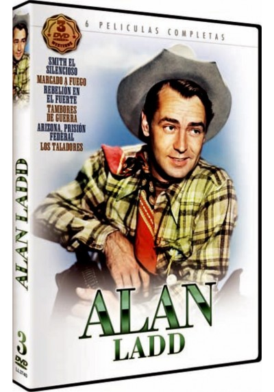 Pack Alan Ladd 6 Largometrajes