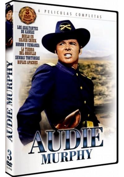 Pack Audie Nurphy 6 Largometrajes