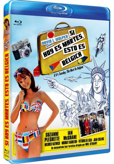 Si hoy es martes, esto es Belgica (Blu-Ray) (If It's Tuesday, This Must Be Belgium )