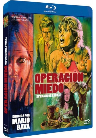 Operacion Miedo (V.O.S.) (Blu-Ray) (Bd-R) (Operazione Paura)