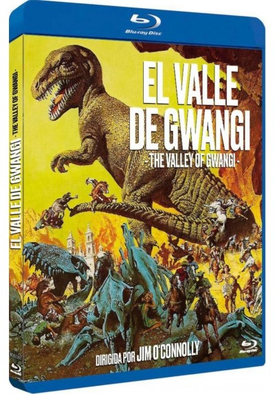 El Valle De Gwangi (Blu-Ray) (Bd-R) (The Valley Of Gwangi)