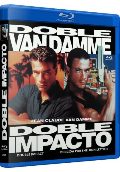 Doble Impacto (Blu-Ray) (Double Impact)