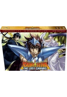 Los Caballeros Del Zodiaco - Saint Seiya The Lost Canvas - Temporada 1+2