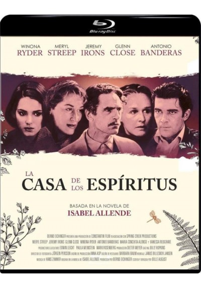 La Casa De Los Espíritus (Blu-ray) (Das Geisterhaus)