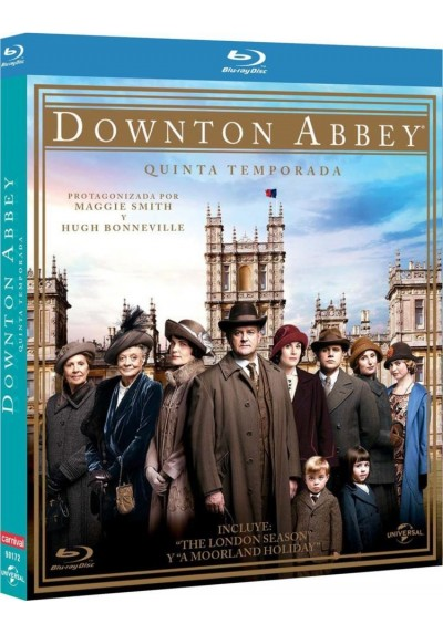 Downton Abbey - 5ª Temporada (Blu-Ray)