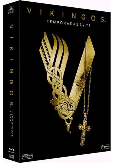 Pack Vikingos - 1ª A 3ª Temporada (Blu-Ray)