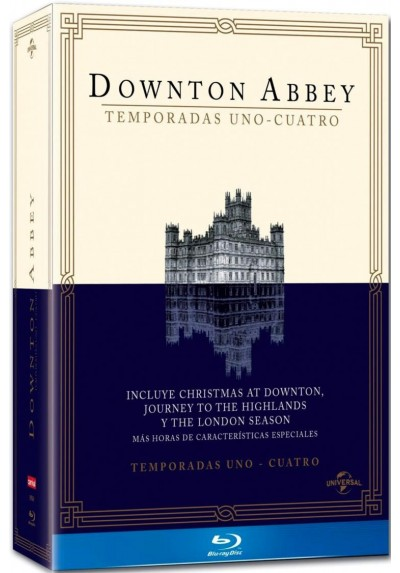 Pack Downton Abbey - 1ª A 4ª Temporada (Blu-Ray)